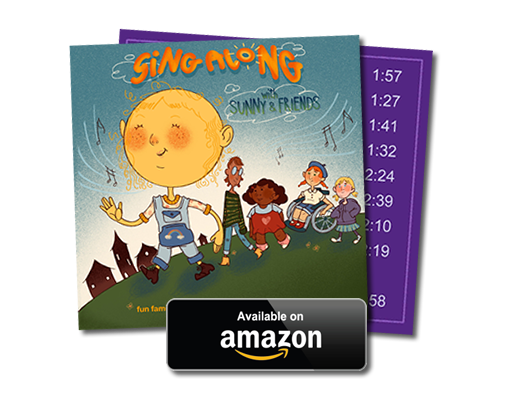 Image of SING ALONG WITH SUNNY AND FRIENDS album by Tracy Marting